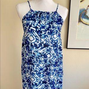 Blue Romeo & Juliet Maxi Dress